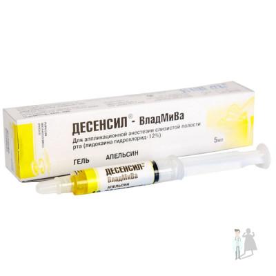 Десенсил - анестезирующий гель