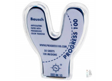 Артикуляционная бумага подковообразная bk 53 синяя Bausch 100 мкм 50 шт