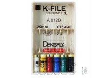 K-Files Dentsply Maillefer | К-Файлы Colorinox 25 мм