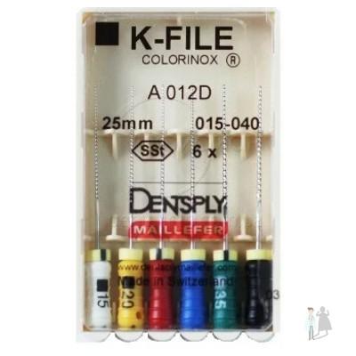 К-Файлы Dentsply Maillefer 25 мм