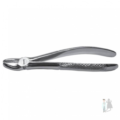Щипцы для удаления зубов S-образные с шипом справа 109