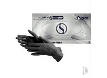 Черные Нитриловые перчатки Igar