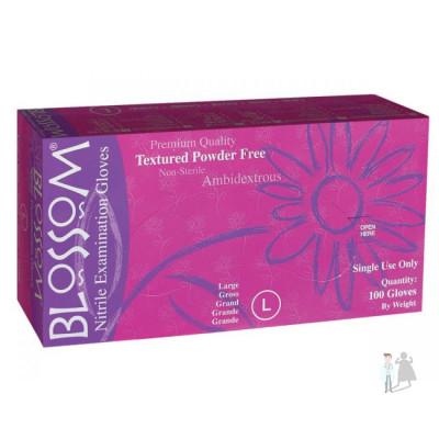 Перчатки Blossom нитриловые смотровые 50 пар