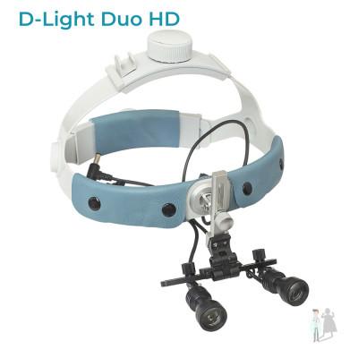 D-Light Duo HD осветитель для бинокуляров