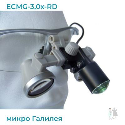 ECMG-3,0x-RD ErgonoptiX с подсветкой D-Light micro XL и УФ фильтр