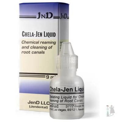 Chela-Jen Liquid | Хела Джен жидкость 9мл для расширения корневых каналов