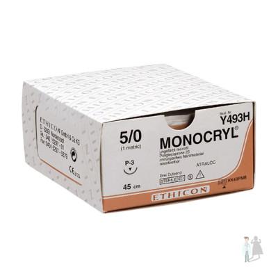 Шовный материал Монокрил | Monocryl 5-0
