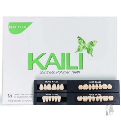 Гарнитур зубов KAILI пластмассовые