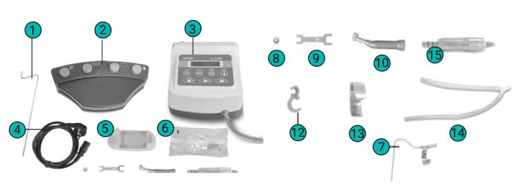 x-cube saeshin физиодиспенсер в комплекте с наконечником