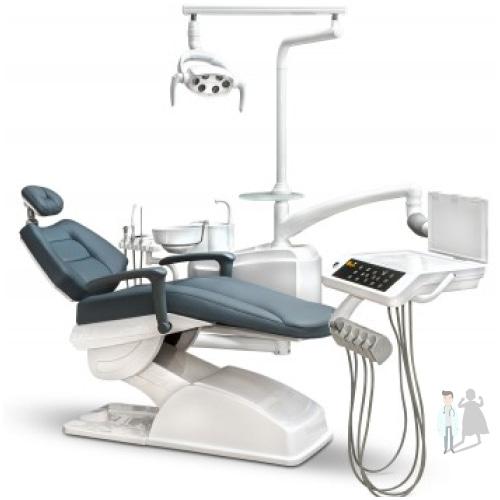 трехсекционная стоматологическая установка AY-A3600