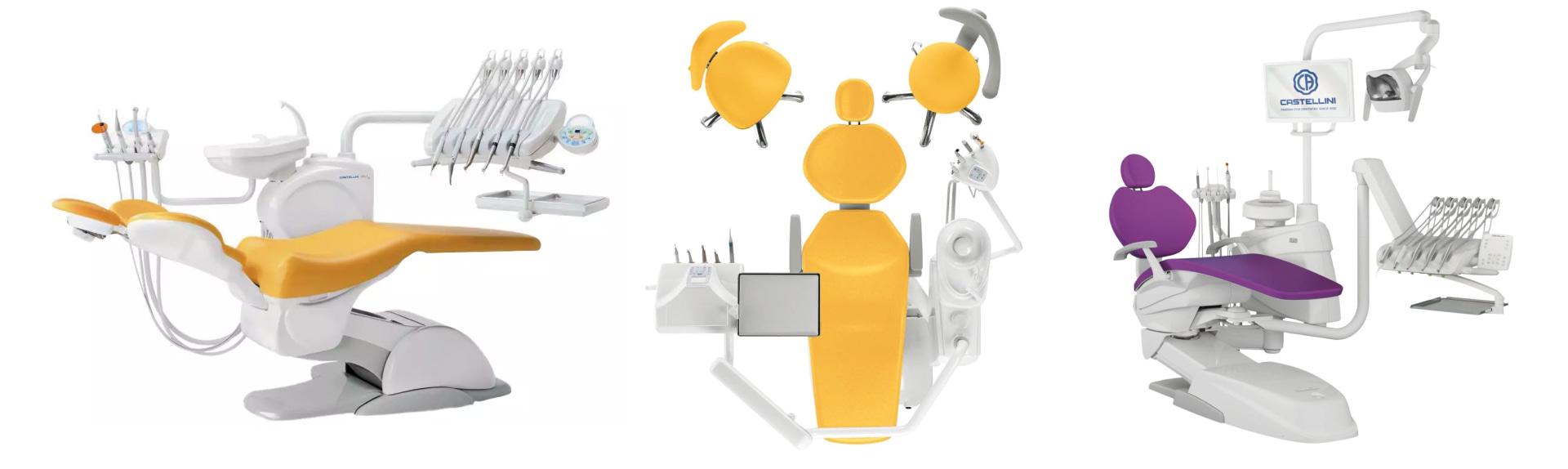 Итальянаская стоматологическая установка премиум класса Puma Eli R