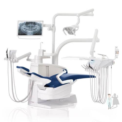 Бюджетная стоматологическая установка, стул для кабинета Сирона