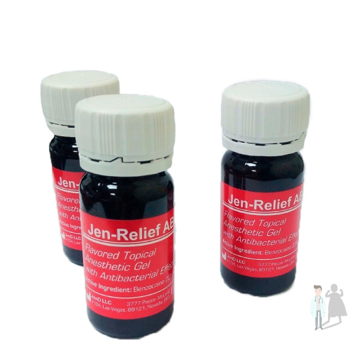 Стоматологический анестезирующий гель Jen Relief 30