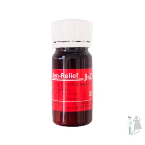 Джен Релиф 30 мл - антибактериальный аппликационный гель-анестетик