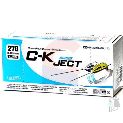 Набор карпульных игл C-K Ject