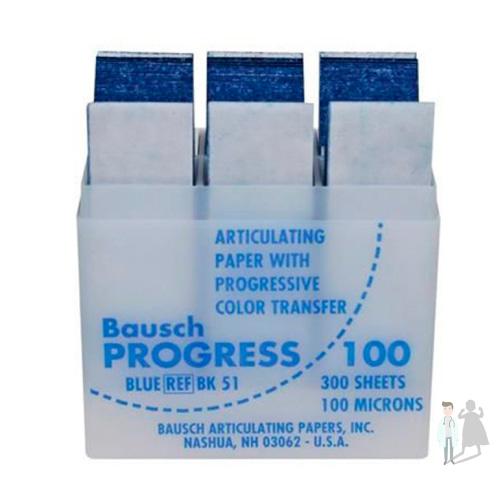 артикуляционной бумаги bausch
