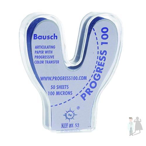 Артикуляционная бумага подкова Bausch