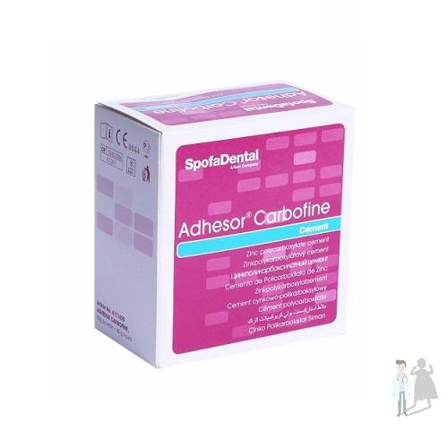Adhesor Carbofine цемент для изолирующих прокладок и фиксации
