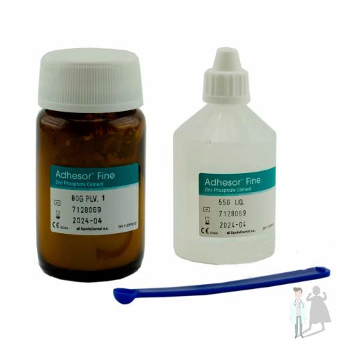 Адгезор - стоматологический цемент на основе фосфате цинка