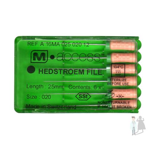 ручные эндодонтические инструменты Н файл Maillefer