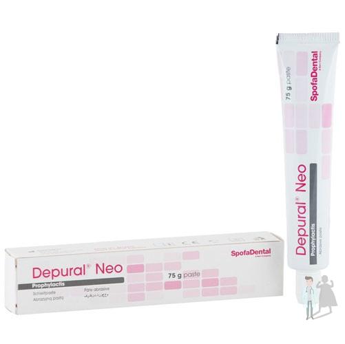 Депурал Нео паста для полировки зубов DEPURAL NEO