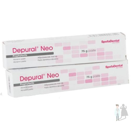 паста для полировки зубов DEPURAL NEO