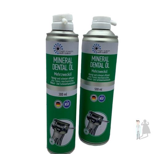 Смазка-спрей для чистки наконечников Mineral Dental OIL