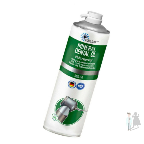 Mineral Dental OIL Смазка-спрей для чистки наконечников
