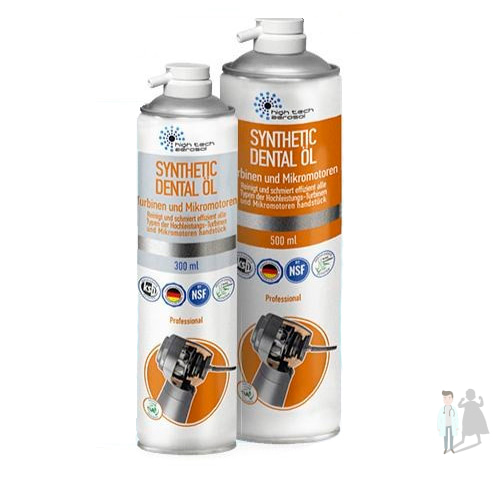 Synthetic Dental Oil - спрей-смазка для наконечников
