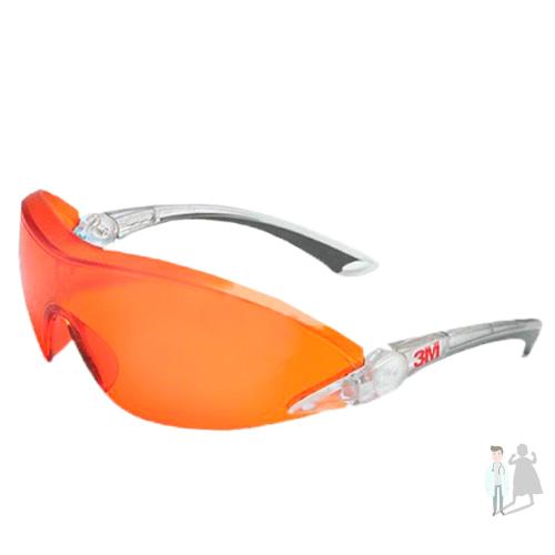 Очки для защиты глаз при работе с полимерной лампой