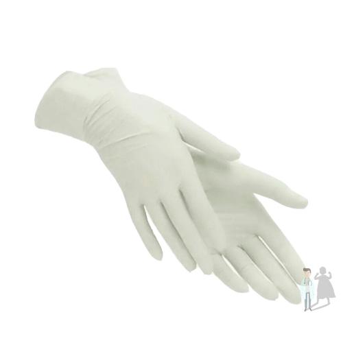 Латексные перчатки неопудренные нестерильные перчатки