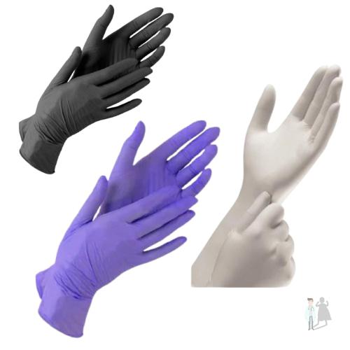 Медицинские латексные перчатки Igar одноразовые