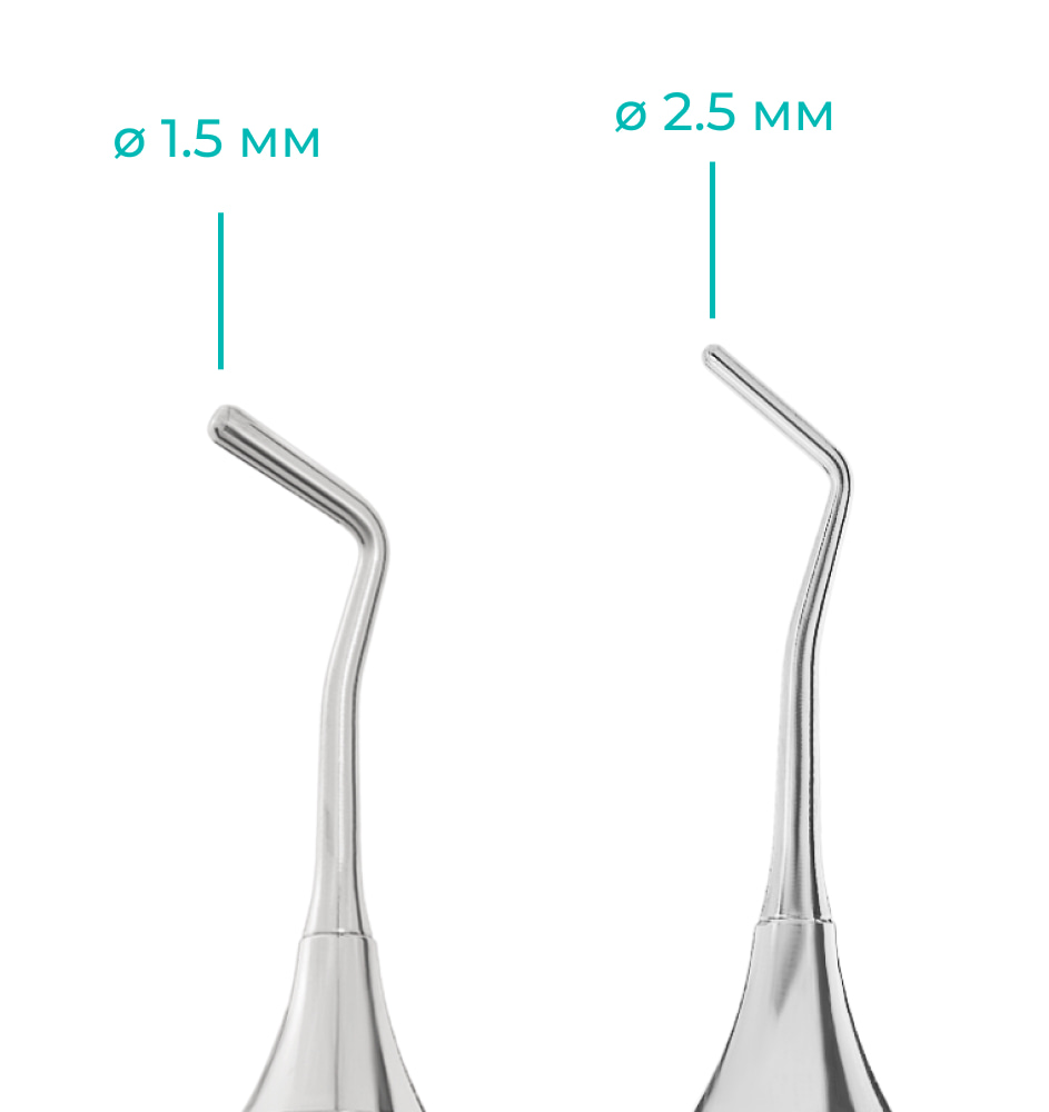 Характеристики стоматологического штопфера тип 2 цилиндр