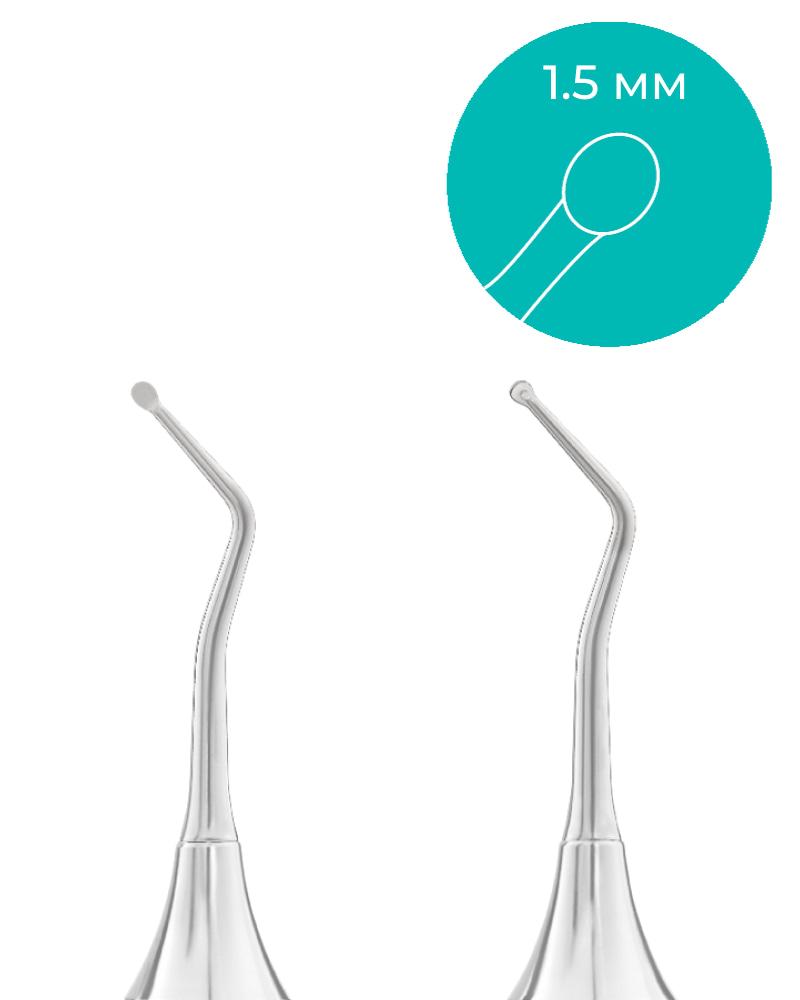 Размеры стоматологического экскаватора dd1 30 1m