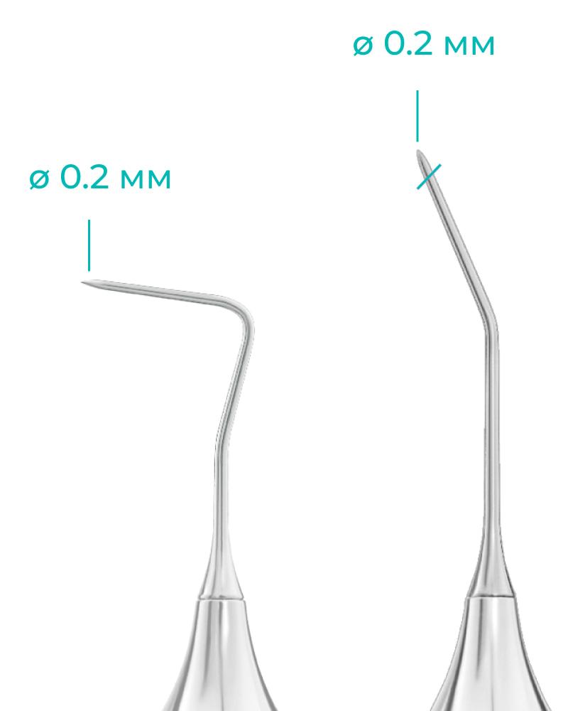 Размеры стоматологического зонда тип 1