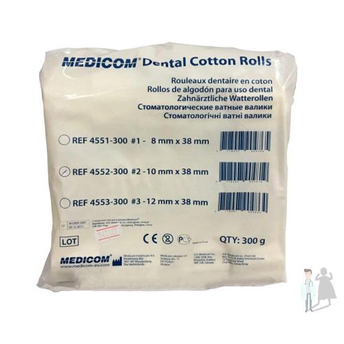 Валики ватные для стоматологии Medicom