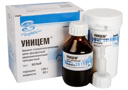 цинк фосфатный пломбировочный материал Уницем