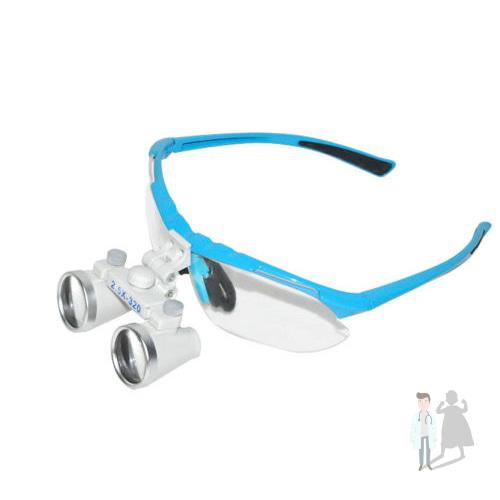 Бинокулярные очки для стоматологии с подсветкой