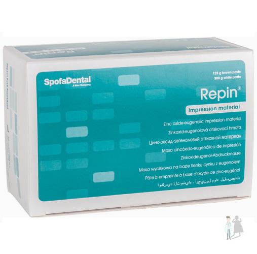 Слепочные цинк-оксид-эвгенолы Репин оптом в Украине