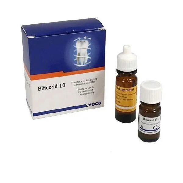 Лак для фторирования зубов BIFLUORID 10