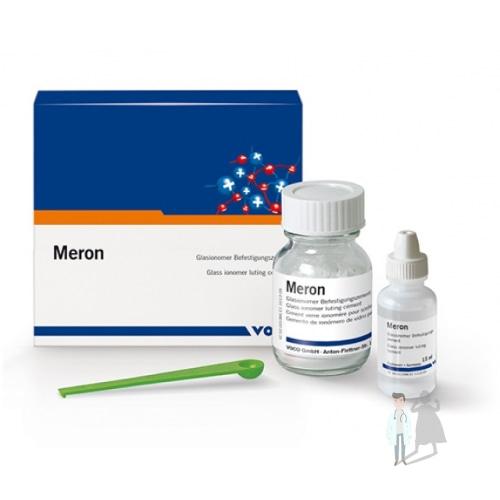 Цемент для фиксации ортопедических и ортодонтических конструкций Мерон