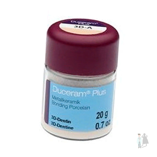 Duceram Plus - керамическая масса DeguDent